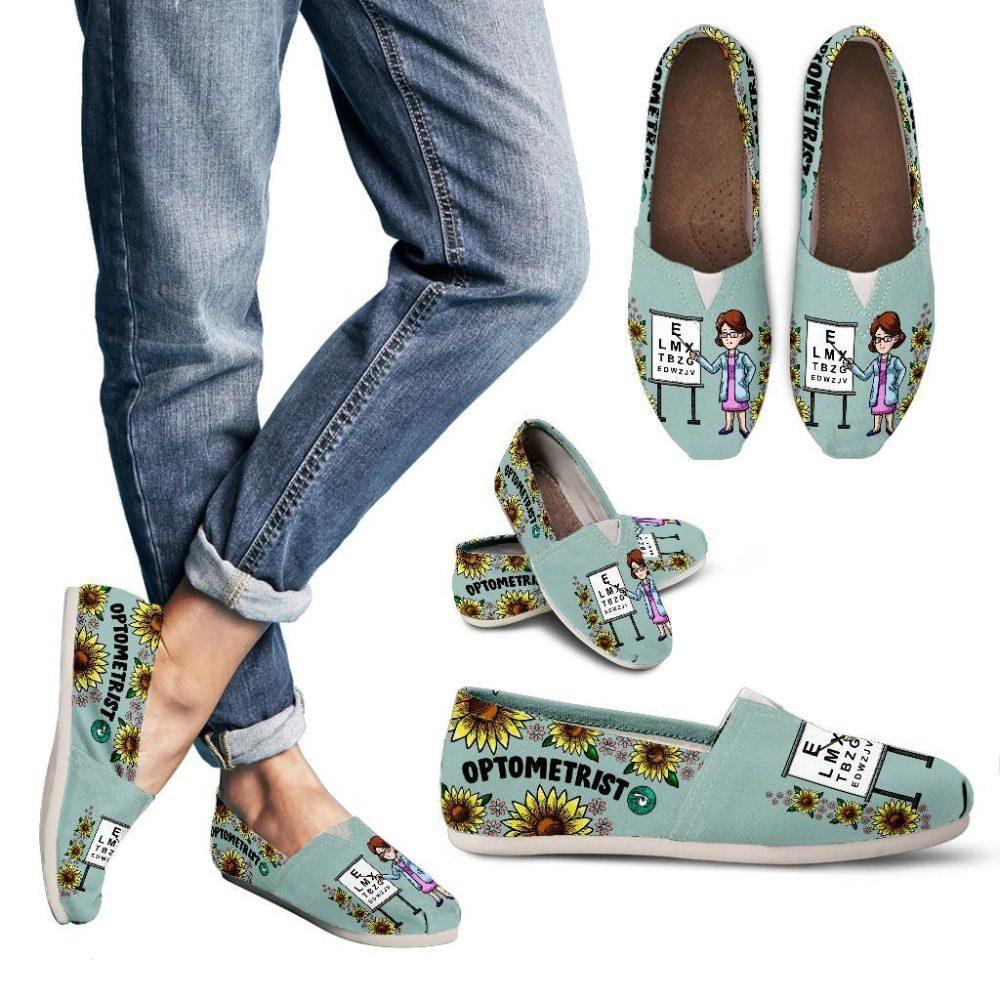 Custom Optometrist Women Casual Shoes