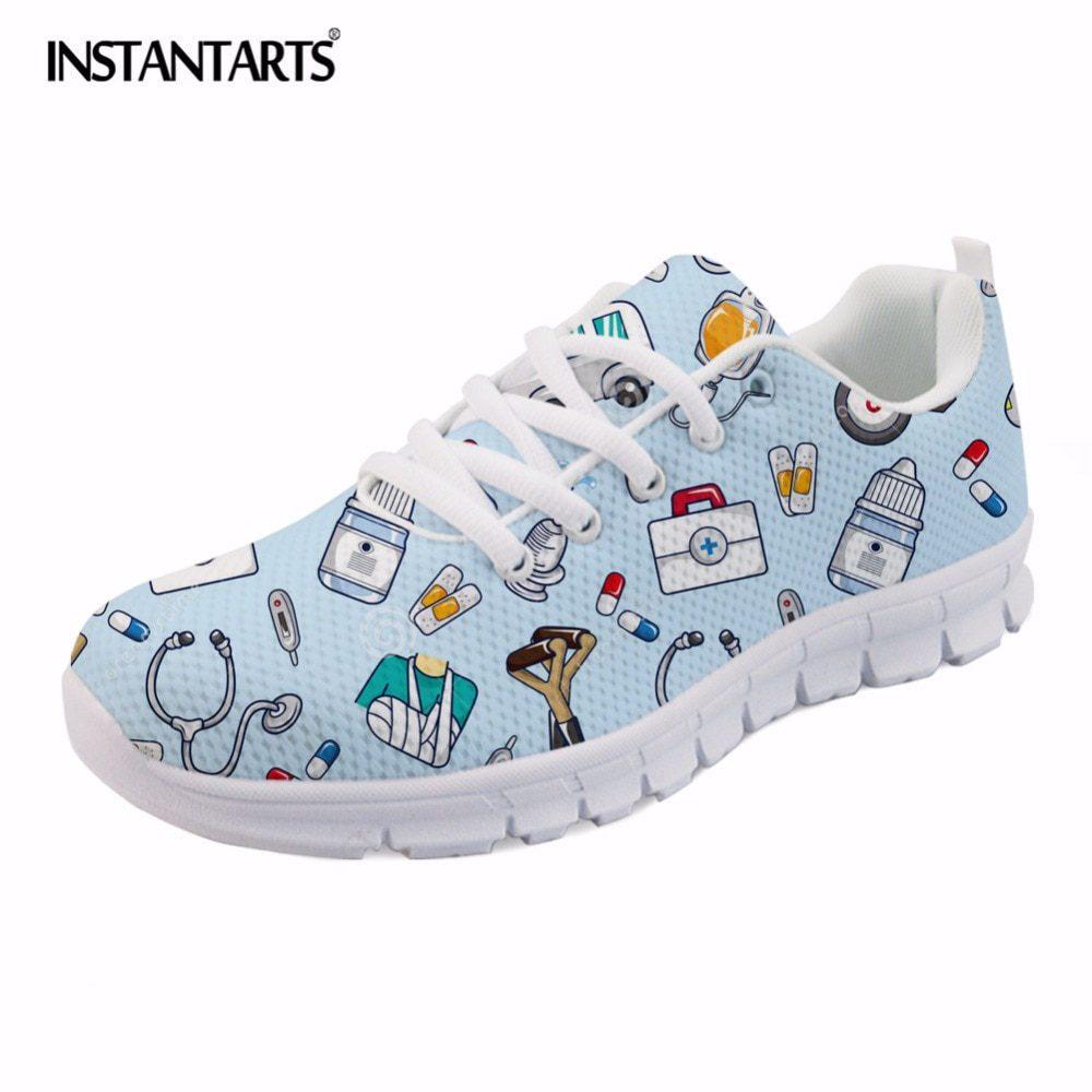 Breathable Mesh Flats Shoes