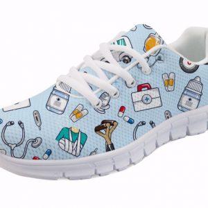 Spring-Nurse-Flat-Shoes-Women-Cute-Cartoon-Nurses-Printed-Women-s-Sneakers-Shoes-Breathable-Mesh
