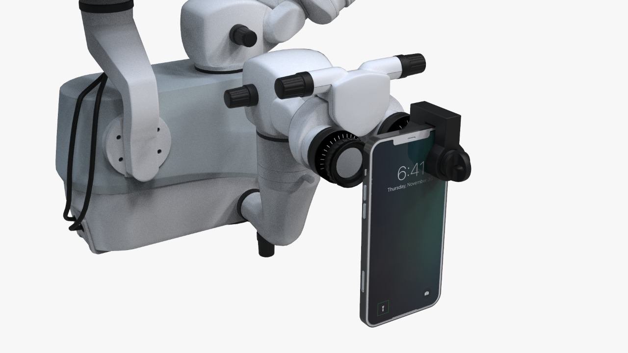 smartphone-adaptor-for-surgical-microscope