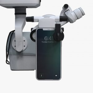 surgical microscope opthalmic adaptor for smartphones